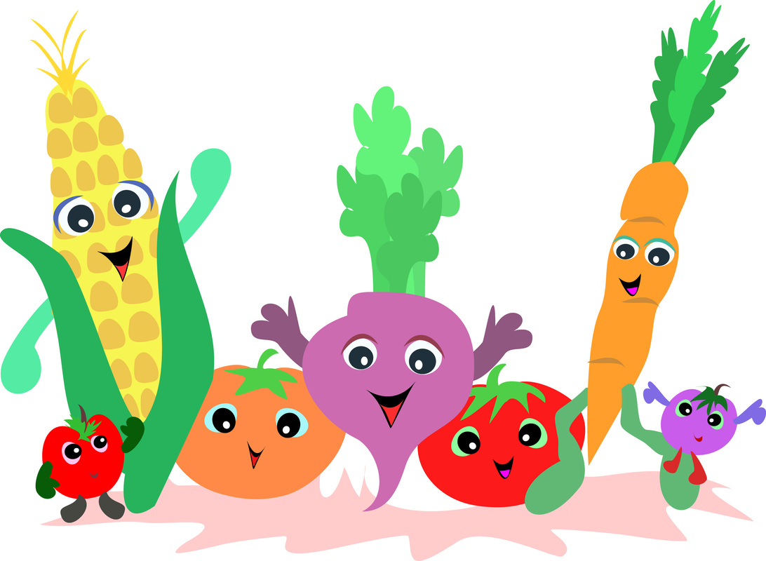Vegetables cartoon
