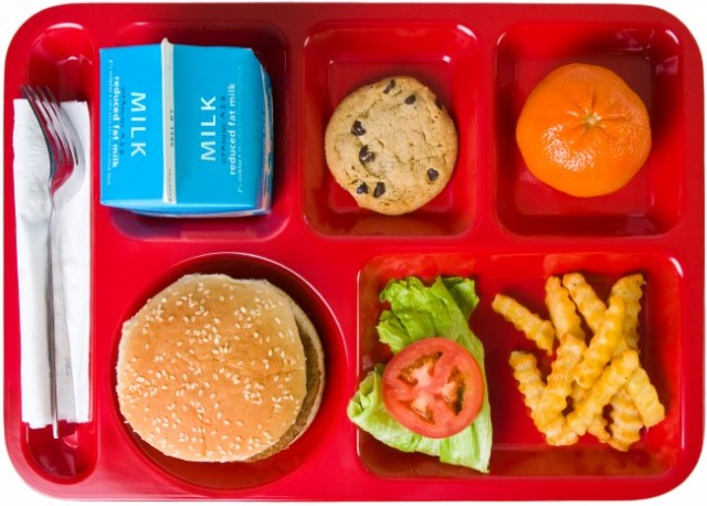 School lunch (stock photo)